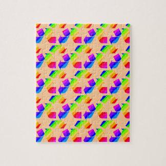 新しい虹のリサイクル ジグソーパズル