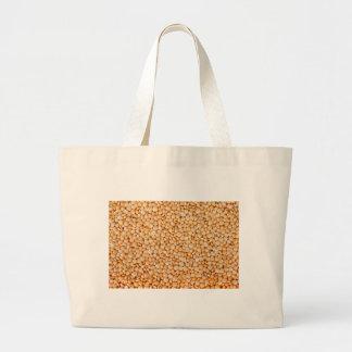 新しい赤レンティルの布の買い物袋 ラージトートバッグ