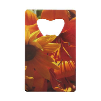 新しい選ばれた花 クレジットカード 栓抜き