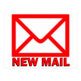 新しい郵便 ポストカード