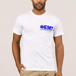 新しい青教養があるEMTの義務スタイルのワイシャツ Tシャツ