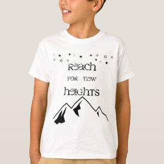 新しい高さの子供のワイシャツのための範囲 Tシャツ