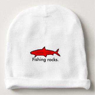 新しい魚釣りは赤ん坊の帽子を揺すります! ベビービーニー