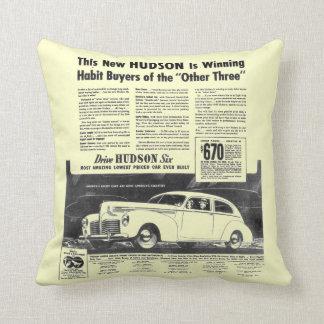 新しい1940年のハドソンの自動車装飾用クッション クッション