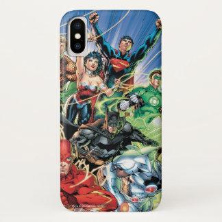 新しい52 -ジャスティス・リーグ#1 iPhone X ケース
