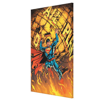新しい52 -スーパーマン#1 キャンバスプリント