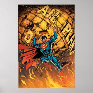 新しい52 -スーパーマン#1 ポスター