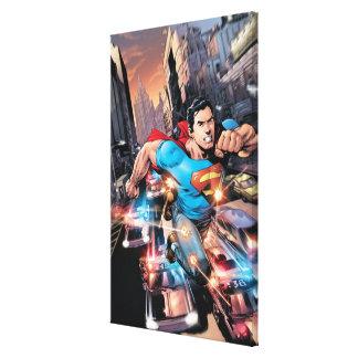 新しい52 -スーパーマン#1 2 キャンバスプリント