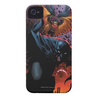 新しい52 -バットマンおよびロビン#1 Case-Mate iPhone 4 ケース