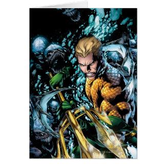 新しい52 - Aquaman #1 グリーティングカード