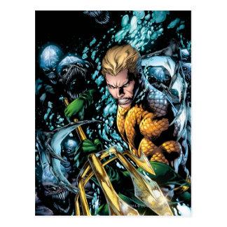 新しい52 - Aquaman #1 葉書き