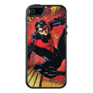 新しい52 - Nightwing #1 オッターボックスiPhone SE/5/5s ケース