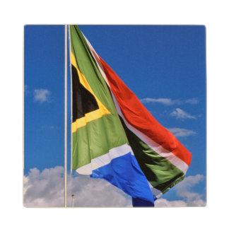 新しい、後1994南アフリカの旗の飛行 ウッドコースター