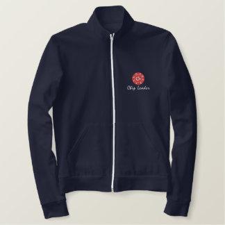 新しい! 2012年! 破片のLeader®のジョガーのジャケット 刺繍入りジャケット