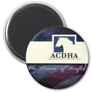 新しいACDHAのロゴ マグネット