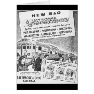新しいB&O Buddは日光Speedlinersを造りました カード