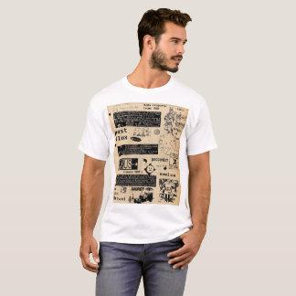 新しいFluxusの声明のTシャツ Tシャツ