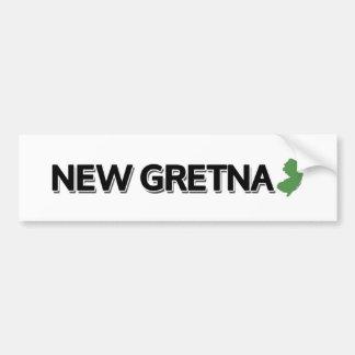 新しいGretna、ニュージャージー バンパーステッカー