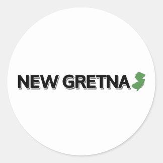 新しいGretna、ニュージャージー ラウンドシール