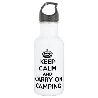 新しいKEEP CALM AND CARRY ONのキャンプの選択 ウォーターボトル