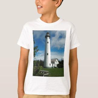 新しいPresqueの島の灯台 Tシャツ