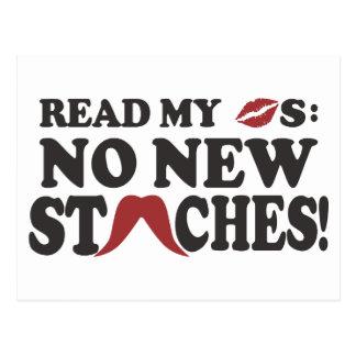 新しいStachesのカスタムの郵便はがき無し ポストカード
