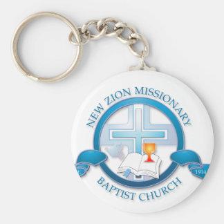 新しいzionの宣教師バプティスト教会 キーホルダー