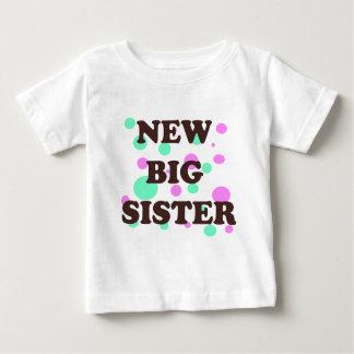 新しく大きいsis ベビーTシャツ