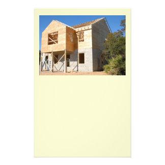 新しく新しい家の建築 チラシ