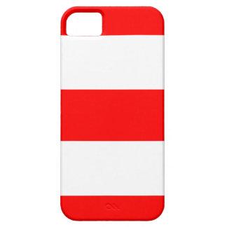 新しく涼しく赤く及び白いiPhone 5の箱 iPhone SE/5/5s ケース