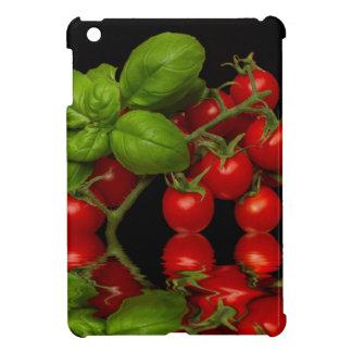 新しく赤いチェリートマト iPad MINIケース