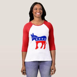 新しく道徳的な大半の女性の野球のワイシャツ Tシャツ