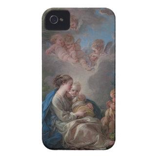新しく、児童のFrançois Boucher Case-Mate iPhone 4 ケース