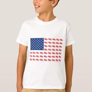 新そり旗のそり Tシャツ