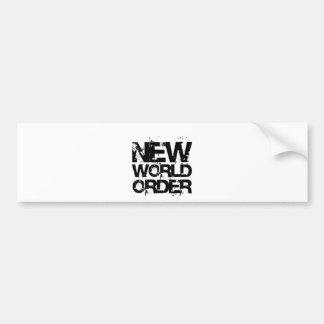 新世界秩序 バンパーステッカー
