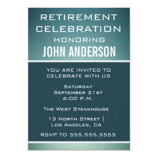 新人の退職パーティーのお祝いの招待 カード