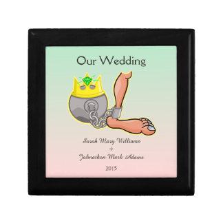 新婚者のための拘束の結婚式の記念品 ギフトボックス