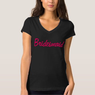 新婦付添人のカスタマイズ可能なワイシャツ Tシャツ