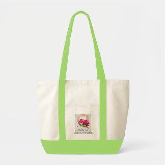 新婦付添人の大きいバッグとして私の日 トートバッグ
