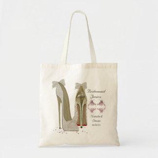 新婦付添人の結婚式のバッグ トートバッグ