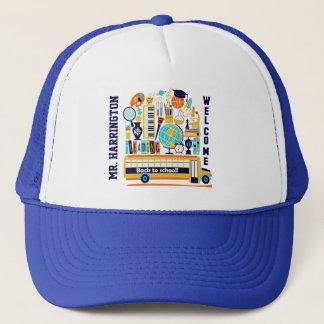 新学期の名前をカスタムするの帽子 キャップ