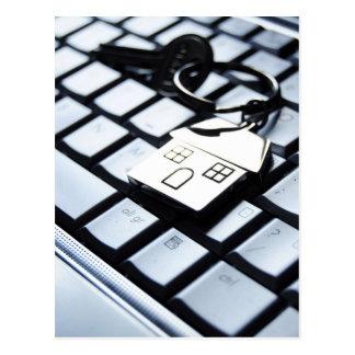 新居のための鍵 ポストカード