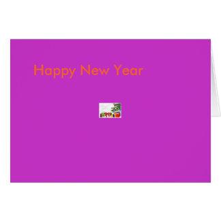 新年および愛物 カード