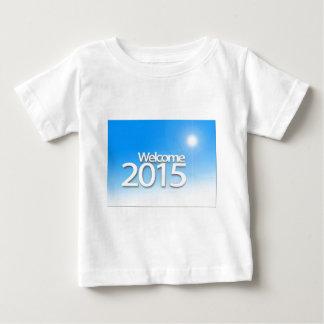 新年のイメージ2015年 ベビーTシャツ