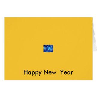 新年のニュース カード