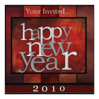 新年のパーティーの招待 カード