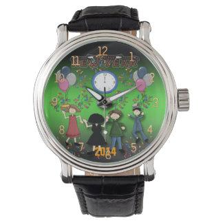 新年のパーティーの腕時計 腕時計
