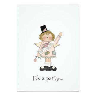 新年のパーティー。.invitation カード