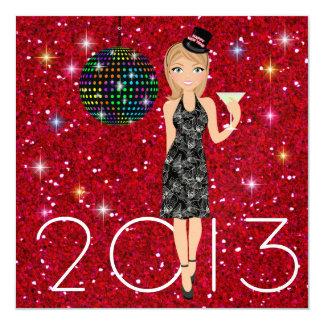新年のパーティー- SRF カード