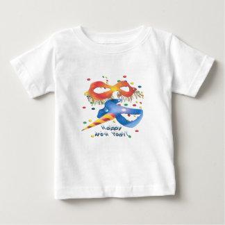 新年のマスク ベビーTシャツ